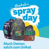 Schulanfangsmeile und Satch Spray Day am 4. Mai 2019 in Wernigerode